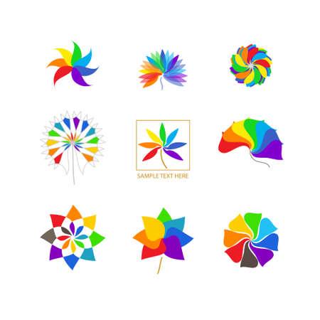 rainbow: Symbols rainbow  Illustration
