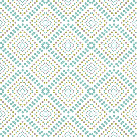 points: Pattern with points on white background, vector.