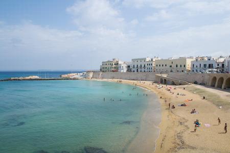 Gallipoli beach 版權商用圖片 - 31822737
