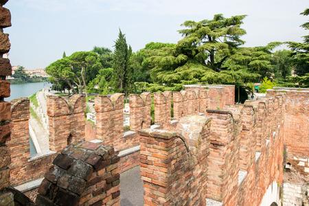 fortify: Old bridge in Verona Italy