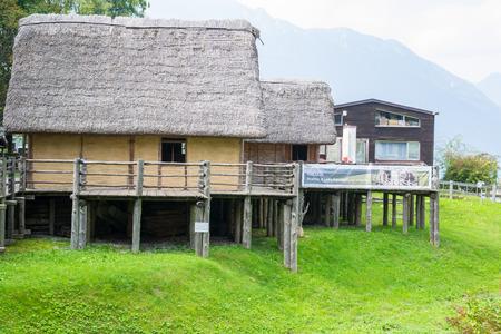pile dwelling: paleolithic pile-dwelling Editorial