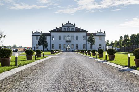 neo classical: Ancient italian villa called Cornaro