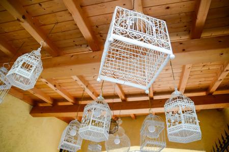 transformed: jaulas de p�jaros transforman en l�mparas