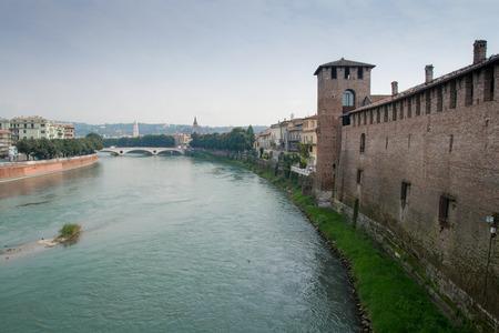 verona: Old Castle Verona Editorial
