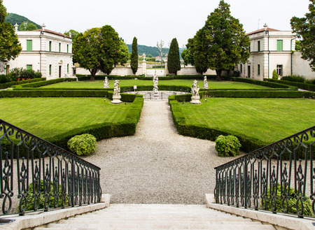 18th: Montecchio Maggiore(Vicenza, Veneto, Italy) - Park of Villa Cordellina Lombardi, built in 18th century Editorial