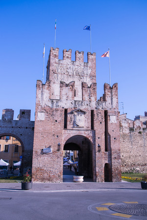 eponymous: Ancient gateway to Soave, fortified city in the province of Verona, famous for the eponymous white wine. Editorial