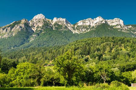 in mountain: Views of the Dolomites, Italian alps famous worldwide.