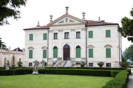 18th: Montecchio Maggiore(Vicenza, Veneto, Italy) - Villa Cordellina Lombardi, built in 18th century Editorial