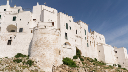 south italy: Ostuni the white town in south Italy.