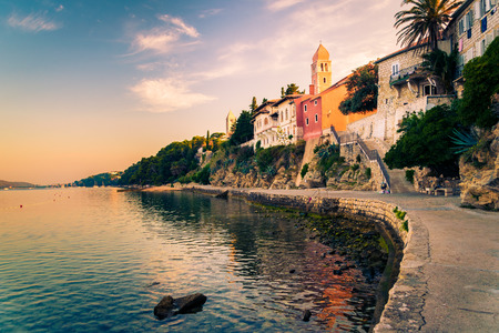 tourist resort: View of the town of Rab, Croatian tourist resort on the homonymous island.