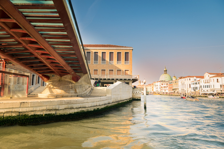 pedestrian bridges: Venice, Italy - Ancient and Modern Architecture merge in beautiful Venice, Italy.