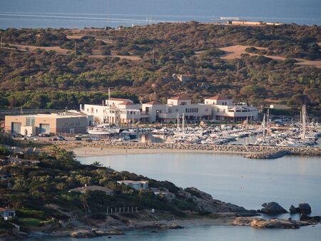 Marina of Villasimius, a famous tourist resort in the south of Sardinia.