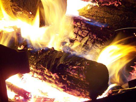 campfire Reklamní fotografie