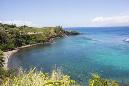 Honolua Bay on Maui, Hawaii.