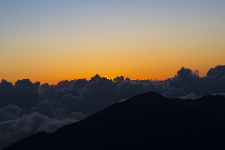 vista: Haleakala Sunrise Hawaii