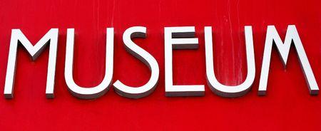 Museum sign Imagens - 6646929
