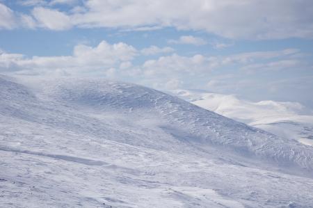 wintriness: Near to Golyam Kademlia peak in Winter   Stock Photo
