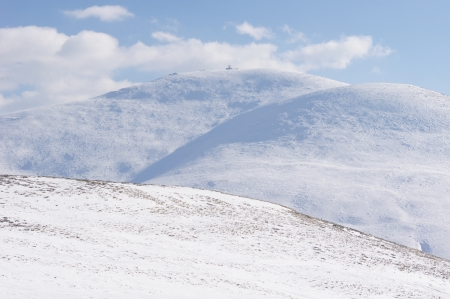 wintriness: Golyam Kademlia peak in Winter
