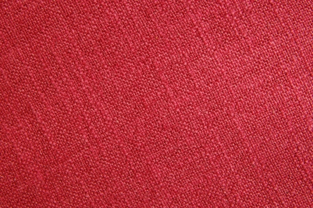 relievo: Red canvas textile close up  Stock Photo