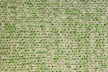 Homemade wool stitch close up  photo