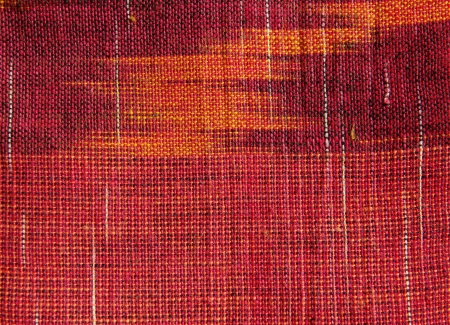 Indian red textile close up Stock Photo - 17581643