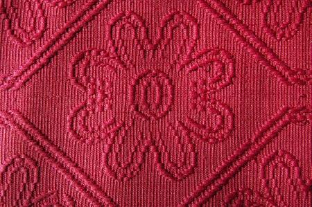 relievo: Red damask