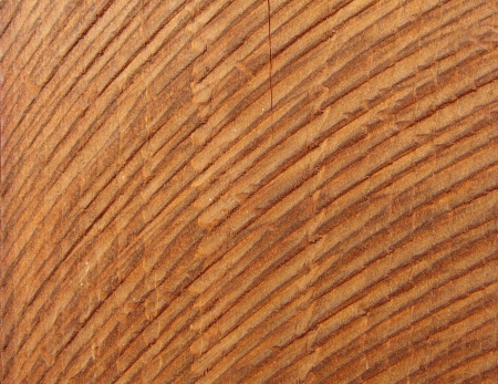rudely: Rough hewn wooden plank Stock Photo