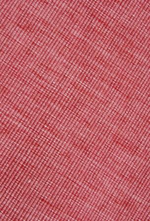 biased: Tovaglietta rossa diogonal close up Archivio Fotografico