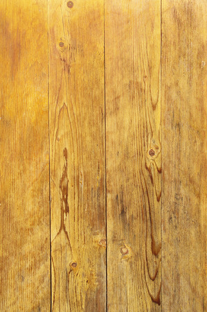 lacquered: Lacquered wooden wall closeup in sunny day Stock Photo