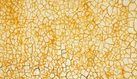 rusty background: Cracked paint with rust on metal texture