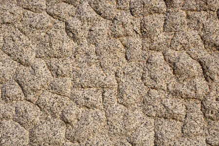 treated: The texture of the processed gray granite closeup