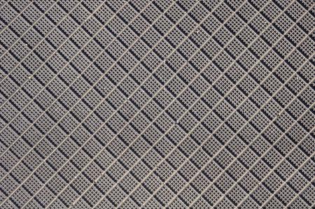 crossings: Rubber flooring for railway level crossings closeup