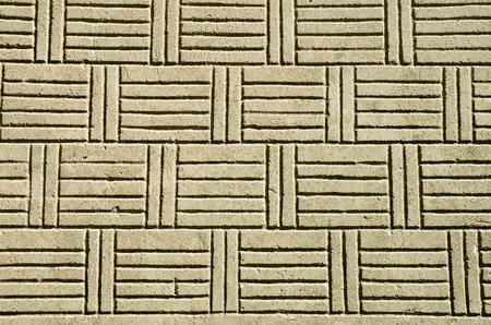 lineas horizontales: Yeso con líneas horizontales y verticales en la pared