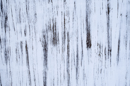abstract paint: Abstract paint black and white  scribble on wall closeup