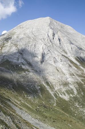pyramid peak: Vihren peak in the Pirin mountain, Bulgaria, Europe