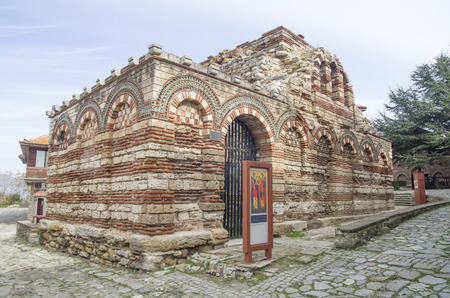 St. Archangels Michail and Gabriel Church in old Nessebar , Bulgaria, Europe
