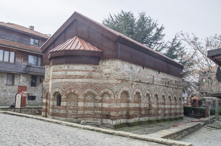 The Church of St. Paraskeva in old Nessebar , Bulgaria, Europe Imagens