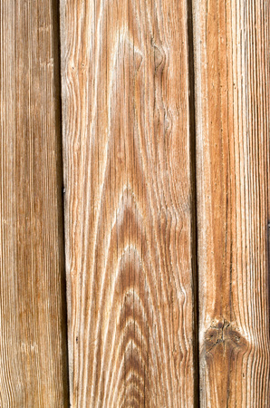 Old wooden lining on wall closeup Banque d'images