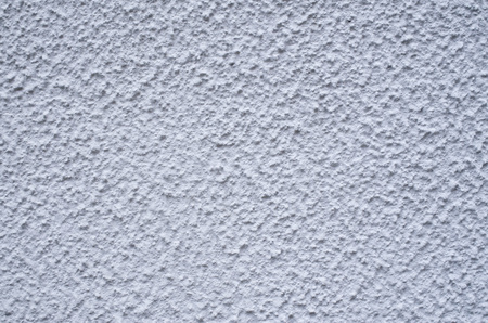 New light gray external plaster on wall closeup