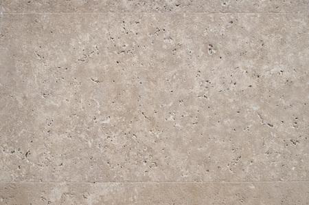 New polished sliced stone cladding on wall closeup  Reklamní fotografie