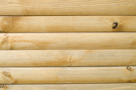 New varnished wooden wall closeup