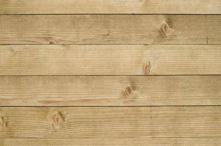 New dirty varnished wooden wall closeup Stock Photo