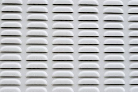 New gray metal ventilation panel closeup Imagens - 148276848