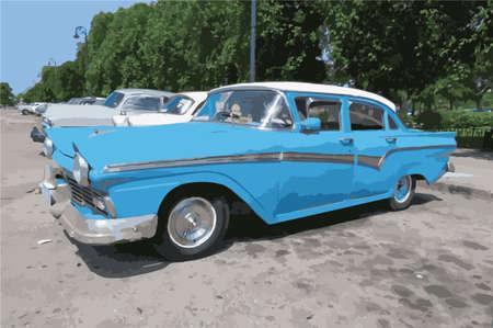 キューバの車