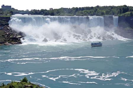water fall: waterfalls scenery