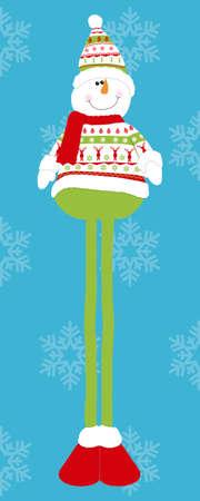 sneeuw mueco Stock Illustratie