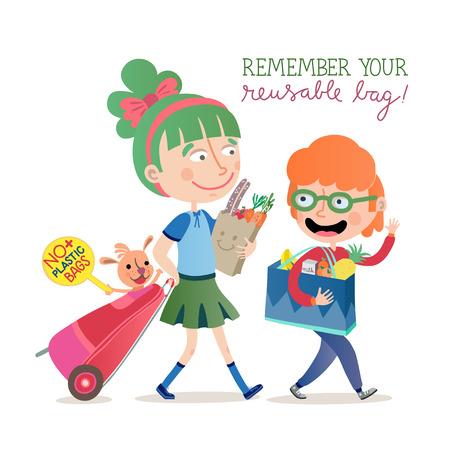 Remember your reusable bag