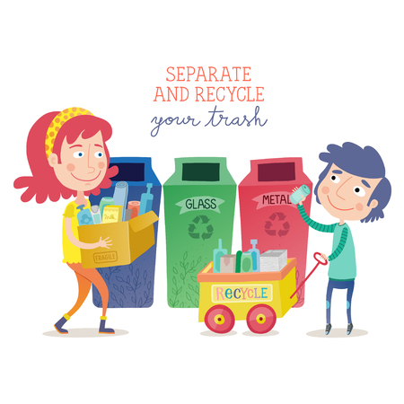 Separate and recycle your trash
