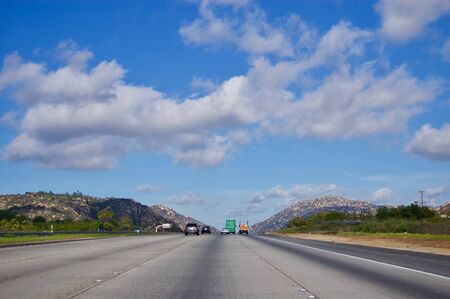 Scenic Road trip in the United States of America from California to Arizona