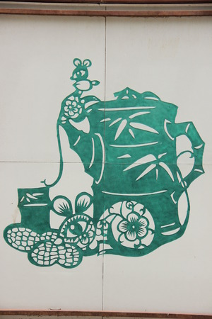 ethnic customs: Paper cut art